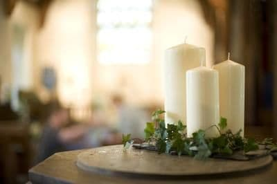 CHURCH PILLAR CANDLES