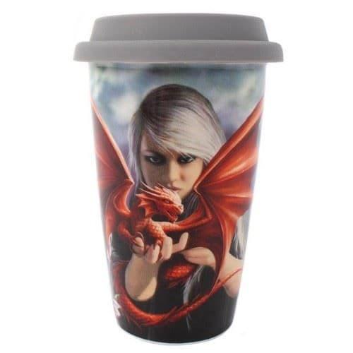 Dragon Kin Ceramic Travel Mug