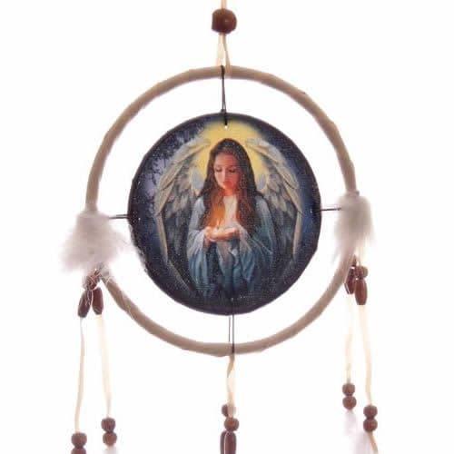 Lisa Parker Angel Dreamcatcher - White