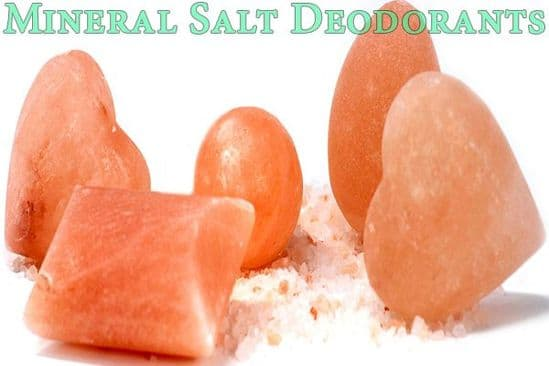 Mineral Salt Deodorants