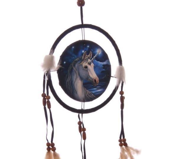 Unicorn Dreamcatcher by Lisa Parker