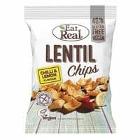 Eat Real Chilli & Lemon Lentil Chips 40g