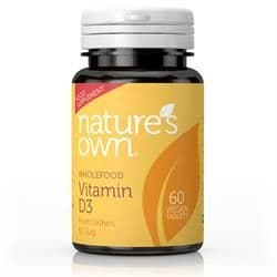 Natures Own Vitamin D3