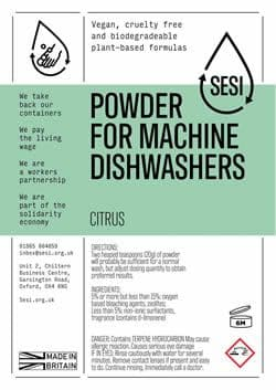 SESI Dishwasher Powder