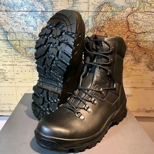 AltBerg Lady  Sneeker AQUA Elite Special Units Police Boot, Black