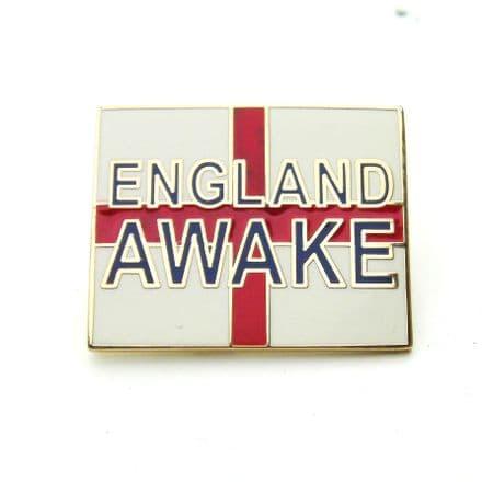 """England Awake"" Lapel Badge"