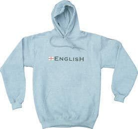 """English"" England Hoodie - Grey"