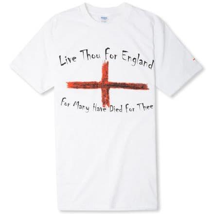 """Live Thou For England"" T-shirt"