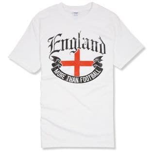 """More Than Football"" England T-Shirt"