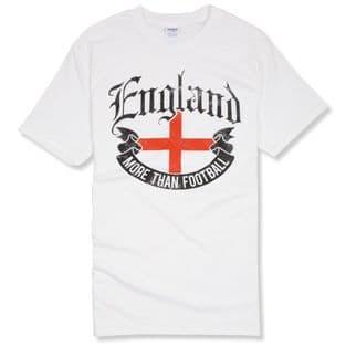 """More Than Football"" England T-Shirt"