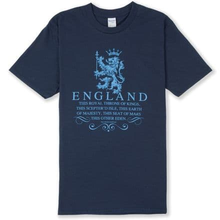 """Throne of Kings"" England T-shirt"