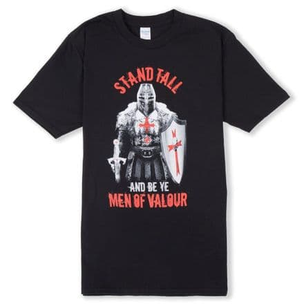 """Warrior Men of Valour"" England T-shirt"