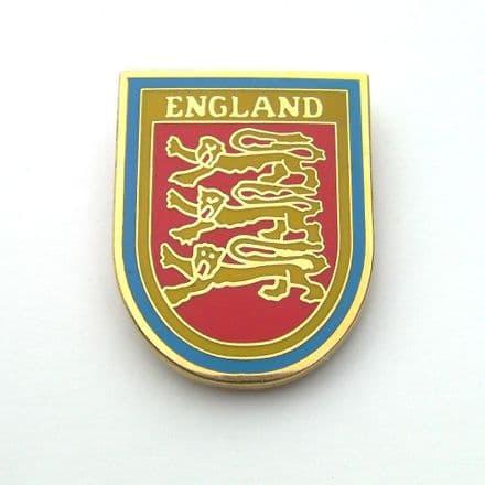 England 3 Lions Pin Badge