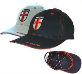 England A93 Baseball Cap - White