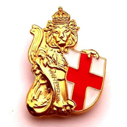 England Badge - Lion and Shield