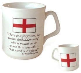 "England ""Churchill"" Coffee Mug"