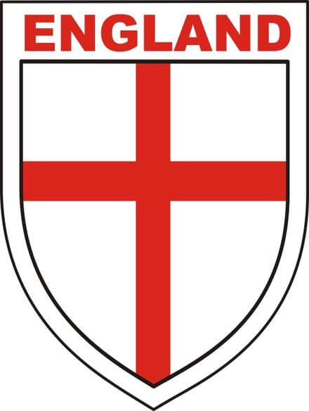 "England ""Shield"" Lorry/Van Sticker"