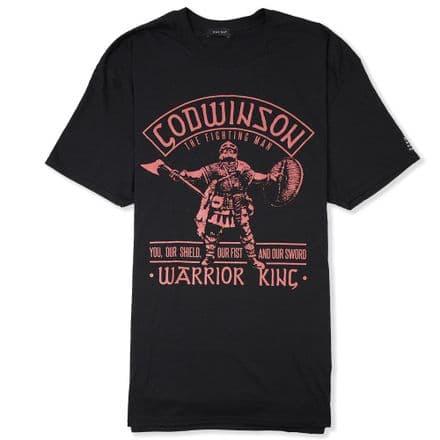 "Godwinson ""Warrior King"" T-Shirt - Black"