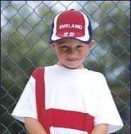 Kids England Baseball Cap