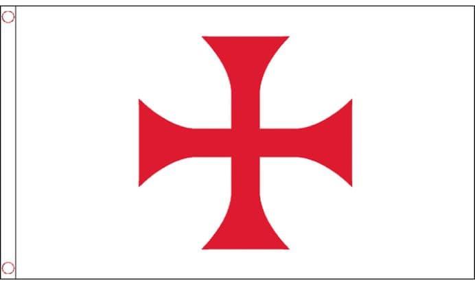 Knights Templar Red Cross Flag