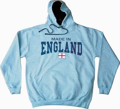 Made In England Hoodie - Heather Grey