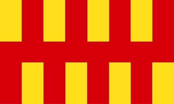 Northumberland County Flag - 5ft x 3ft polyester flag with metal eyelets
