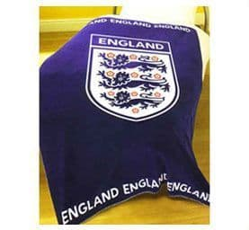 Printed England Fleece Blanket