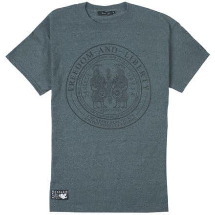 "Senlak ""Ancestors"" T-Shirt - Dark Heather Grey"