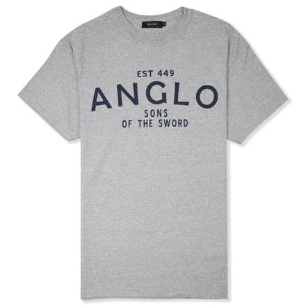 "Senlak ""Anglo"" T-Shirt - Sports Grey"
