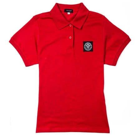 "Senlak ""Beda"" Ladies Polo Shirt - Red"