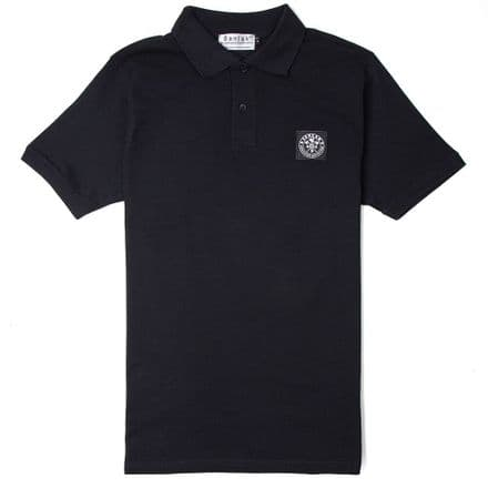 "Senlak ""Brego"" Polo Shirt - Black"