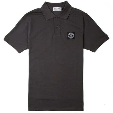 "Senlak ""Brego"" Polo Shirt - Dark Grey"