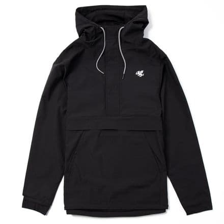 "Senlak ""Burley"" Half Zip Jacket - Black"