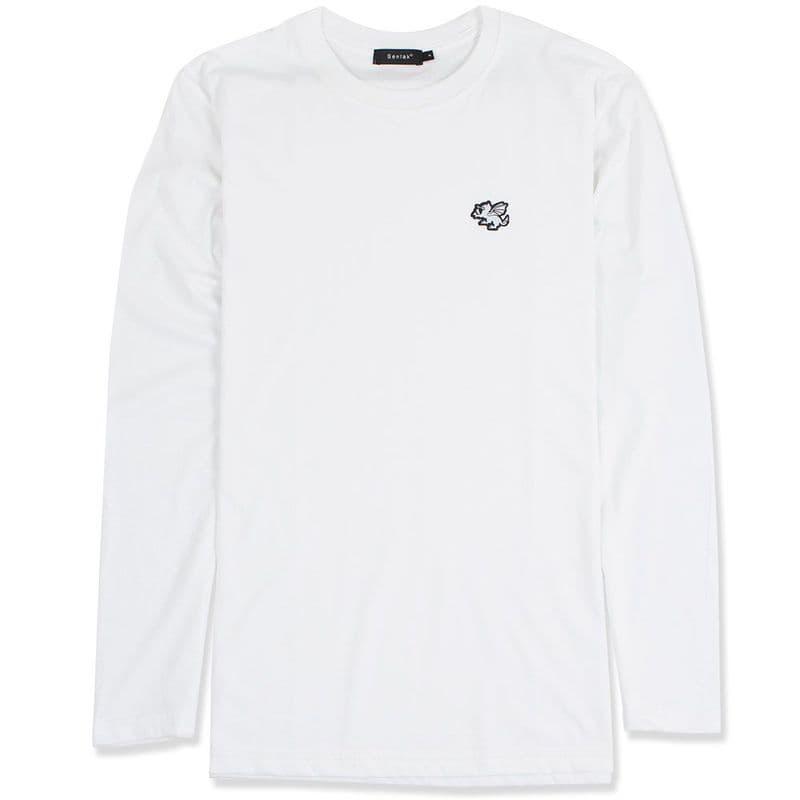 Senlak Classic Longsleeve T-shirt - White