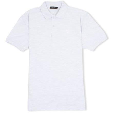 Senlak Classic Pique Polo Shirt - Ash Grey
