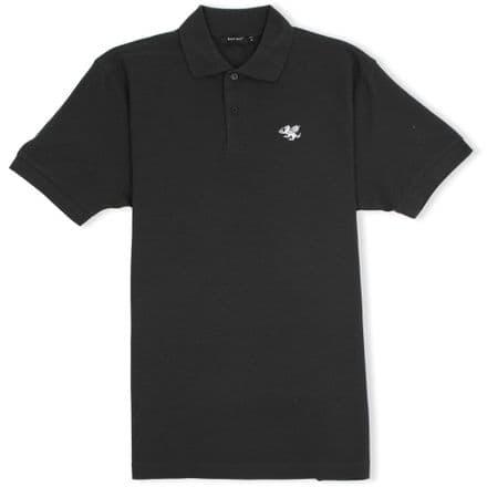 Senlak Classic Pique Polo Shirt - Black