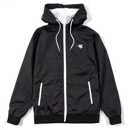 "Senlak ""Freeman"" Lightweight Jacket - Black/White"