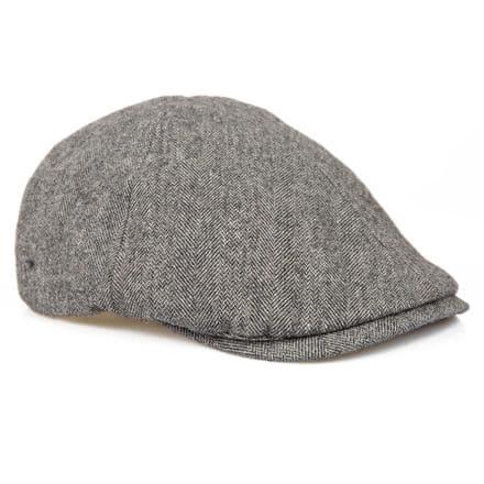 Senlak Herringbone Flat Cap