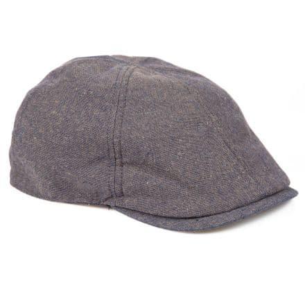 Senlak Linen Flat Cap - Blue