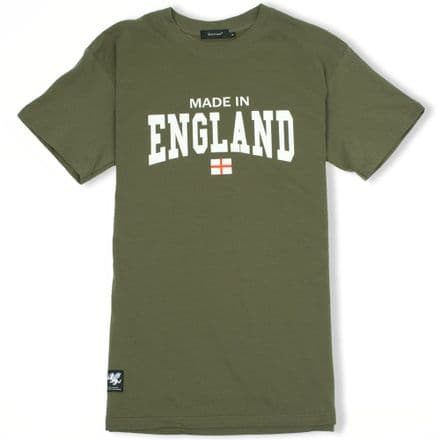 Senlak Made In England T-Shirt - Military Green