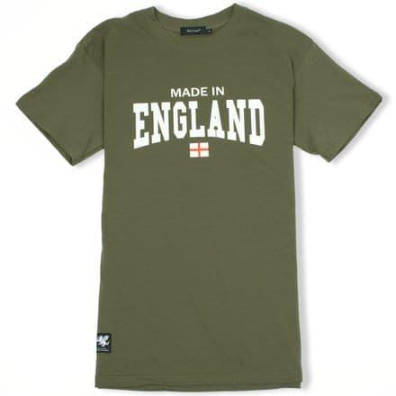 Senlak Made In England T-Shirt - Military Green