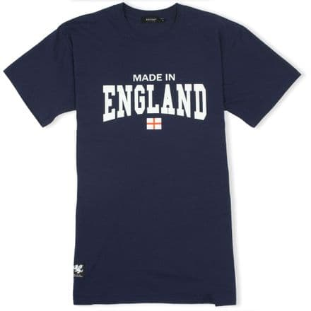 Senlak Made In England T-Shirt - Navy