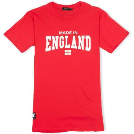 Senlak Made In England T-Shirt - Red