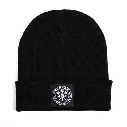 Senlak Original Cuffed Beanie - Black