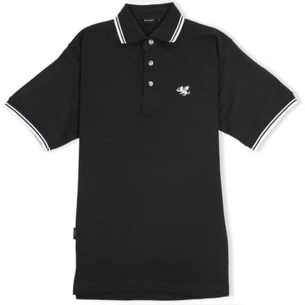 Senlak Tipped Polo Shirt - Black