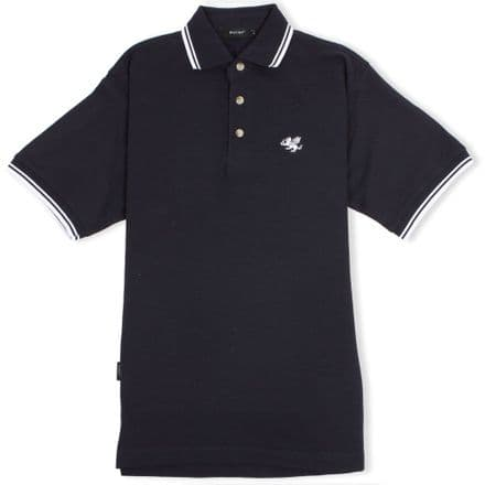 Senlak Tipped Polo Shirt - Navy/White