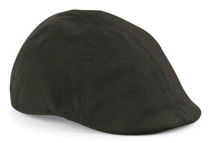 Senlak Waxed Flat Cap