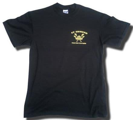 St Edmund T-Shirt (LC) - Black