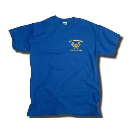 St Edmund T-Shirt (LC) - Royal Blue