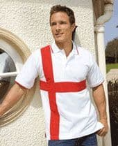 St George Cross Polo Shirt